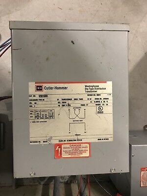 Culter Hammer Single Phase Distribution Transformer S29n11s05n 5kva 120240v Obo