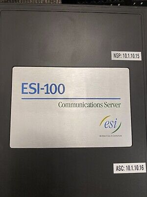 Batch Of 31 Esi E-class 48 Key Extended System With Esi 100 Brain