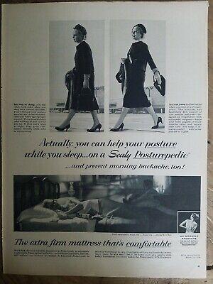 1958 Sealy Posturepedic Cama Colchón Tend a Cárter o Mira Better Vintage...