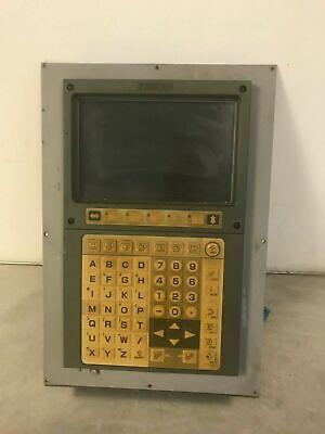 Used Yasnac Jznc-j0p79c-4 Monitor W Jancd-jsp04-1 Board