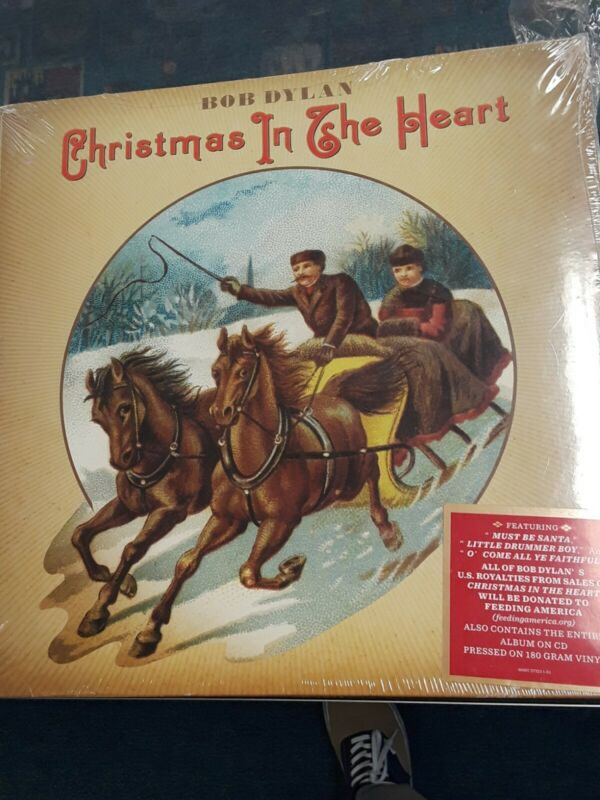 SEALED Bob Dylan LP Christmas In The Heart! Unopened Vinyl Record!