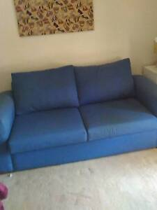 Sofa bed folds out to be a double b Bradbury Campbelltown Area Preview