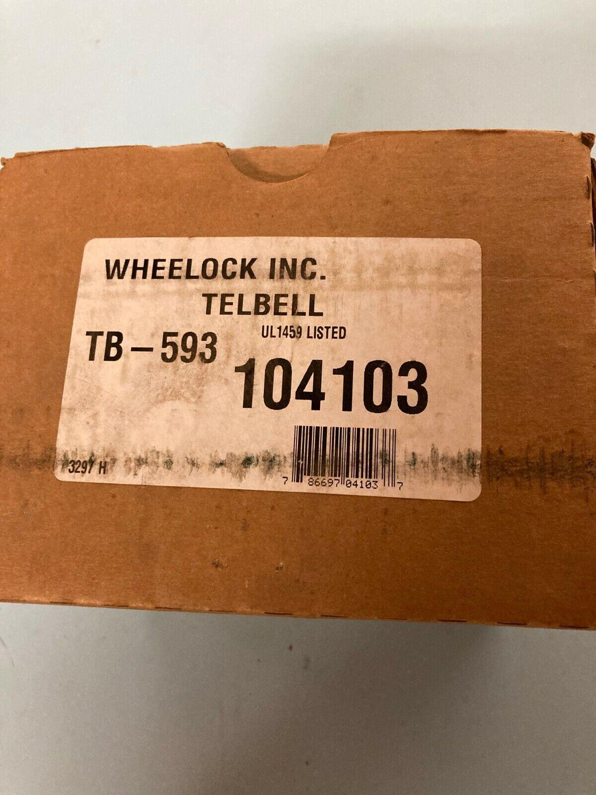WHEELOCK INC.TELBEL TB-593 - $60.98