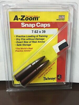 A-ZOOM Snap Caps Pahmayr 7.62x39 Worlds Best Practice (Best 7.62 X39 Ammo)