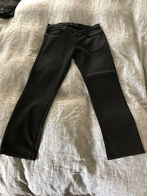 j brand French Terry jeans. Slim fit, washed black, Tyler Fit - Size 33x32