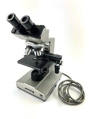 Olympus Ch Binocular Microscope Model Chb 4x 10x 40x 100x Refurbished