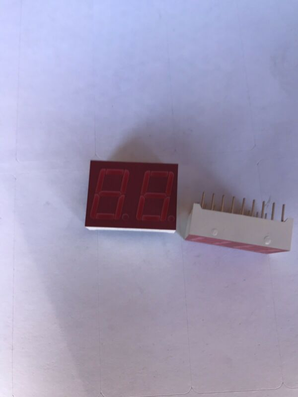 7 segment display 2 digit (20pcs) LITEON RED
