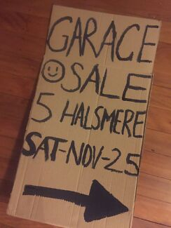 GARAGE SALE - MOVING HOUSE - 6AM SATURDAY