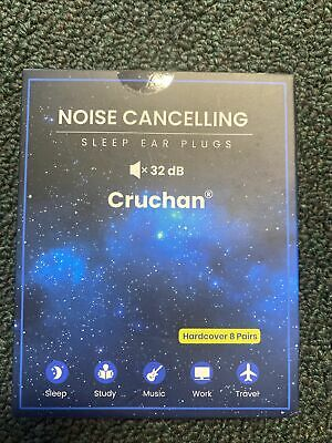 New Cruchan 2021 Version Ear Plugs For Sleeping Noise Canceling 6 Pairs Soft