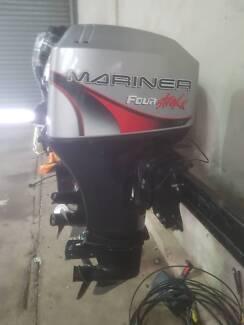 """50hp Mariner/Merc 4stroke, 20"""" , good cond!!!"""
