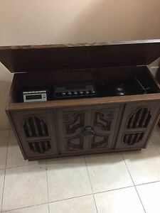 Contents Sale! Display Cabinets, Chairs, Antique Radio and more