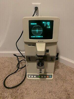 Topcon Cl 2000 Auto Lensmeter Optometrist Eye Doctor