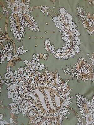 Pottery Barn Margaret Palampore King Duvet Cover Linen/Cotton