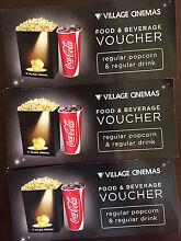 Village cinemas food and beverage vouchers x3 Berwick Casey Area Preview
