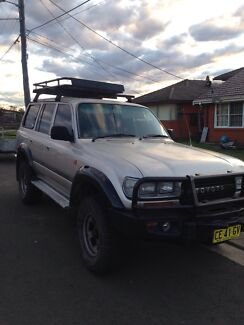 TOYOTA LANDCRUISER 1994 80 SERIES  Mount Pritchard Fairfield Area Preview