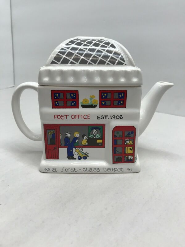 Wade ENGLISH LIFE Teapots Post Office Teapot Barry Smith & Barbara Wootton
