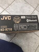 JVC KD-R710 in Dash CD player with Bluetooth for Car