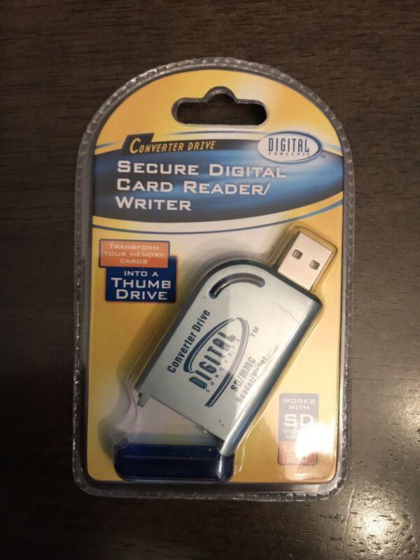 Digital Concepts Secure Digital Card Reader/Writer