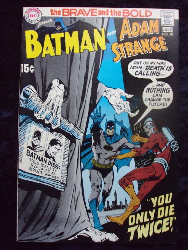 BRAVE & THE BOLD #90 ADAM STRANGE APP DC COMICS