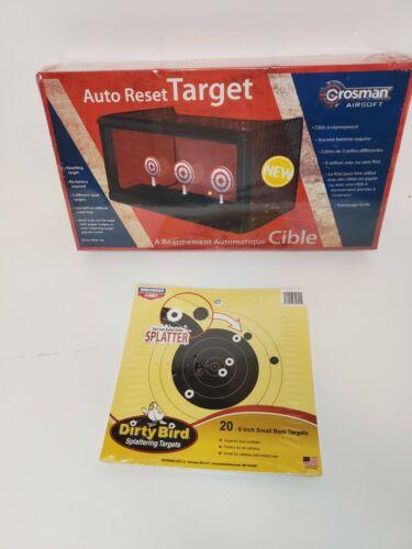 Crosman ASTLG Auto Reset AirSoft Gun BB Target with Dirty Bi