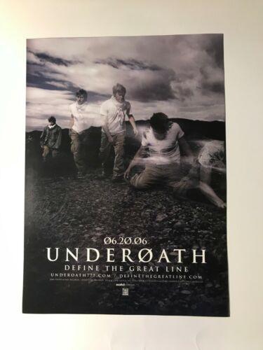 Underoath Define the Great Line 8x11 Advert/poster