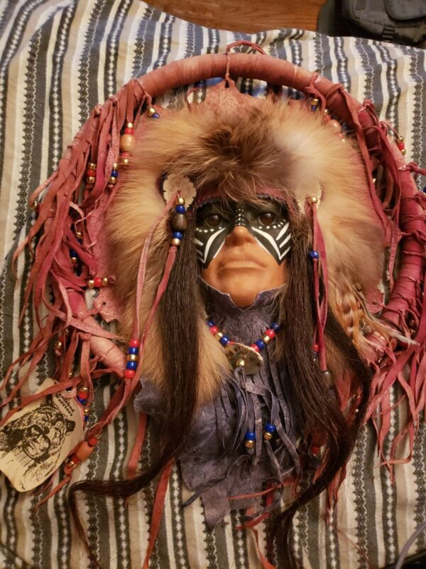 The Vanished Warrior, The North American Plains Indian Vintage Dream Catcher.