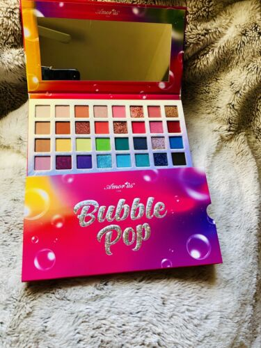 AmorUs Bubble Pop Eyeshadow & Glitter Palette 32 Color Palet
