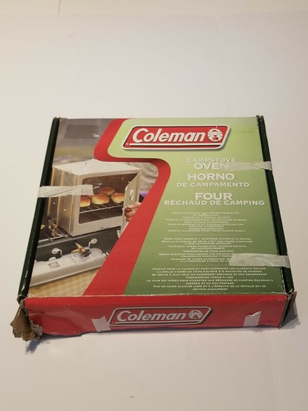 2004 Coleman Camp Stove Oven Collapsible M# 5010D700T Camping Outdoor Living NEW