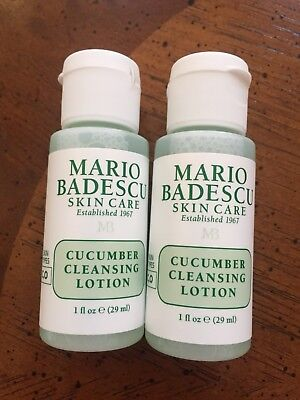 Mario Badescu Skin Care CUCUMBER CLEANSING LOTION Duo -2 x 1 oz -