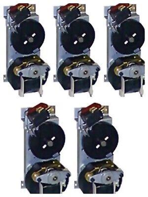 5x Vendo Black Disk Vending Machine Motors Fits 407450 475