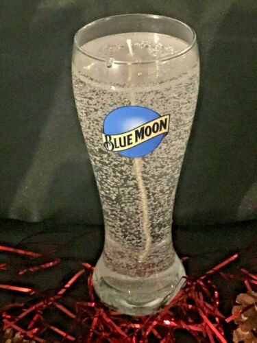 Blue Moon Candle ~ Handmade Gel Candle Glows & Lasts Longer! *Christmas Gift!