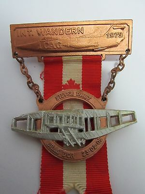 German Canadian 1979 Volksmarch Medal  Baden Soellingen 1 Canadian Air Group
