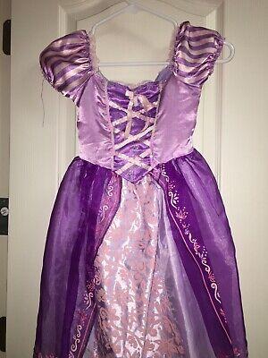Tangled Rapunzel Halloween Costume (girls disney tangled princess rapunzel halloween costume)