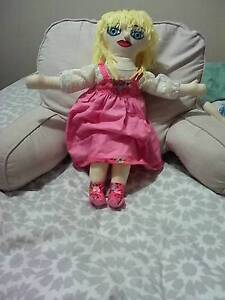 2homemade rag dolls plus home made outfit, Raymond Terrace Port Stephens Area Preview