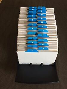 500 Card Rolodex - Never Used