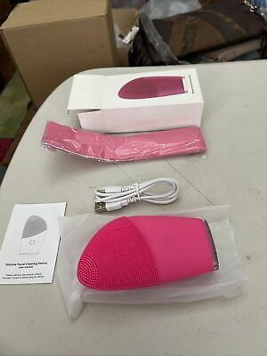 Silicone Facial Cleansing Device New Usb Everything Included