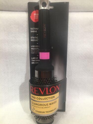 Revlon Smoothstay Titanium Round Thermal Brush, Large