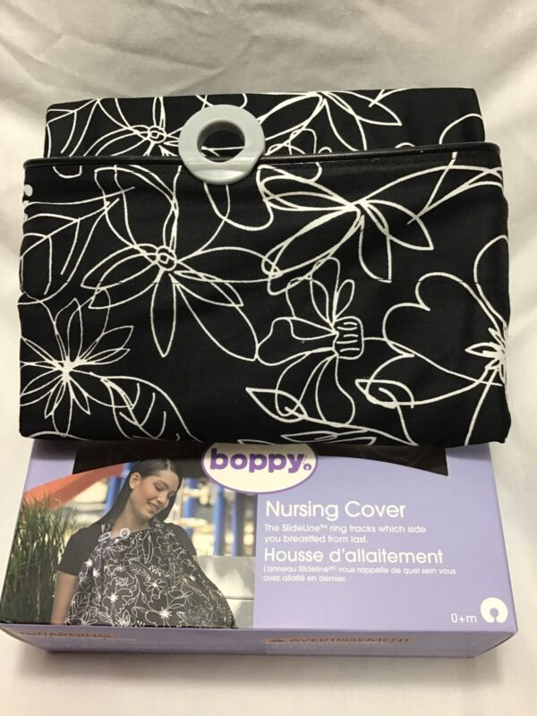 New Boppy Nursing Cover Baby Breastfeeding -Damaged  Box