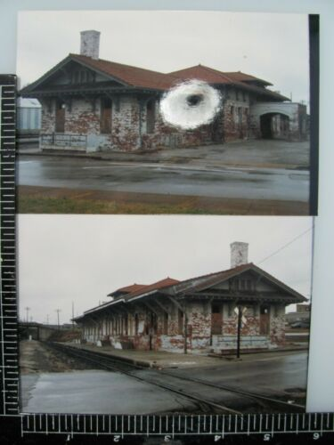 DECATUR ALABAMA SOUTHERN RAILROAD STATION ORIGINAL PHOTOS & NEGATIVE LOT
