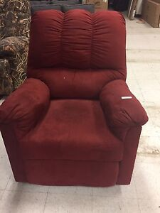 Ashley red recliner