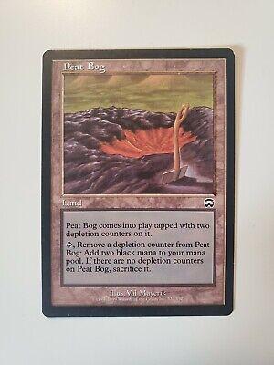 MTG Magic Peat Bog Mercadian Masques LP