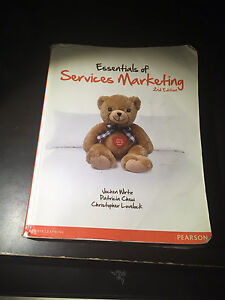 Essentials of Services Marketing 2nd Edition Textbook $50
