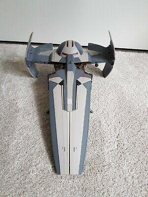 star wars sith infiltrator vehicle darth maul ship hasbro