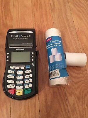 Hypercom Optimum Model T4220 Credit Card Terminal