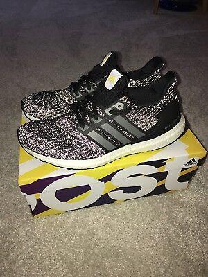 new style 88b49 d0c3e Adidas Ultraboost LTD 4.0 Ultra Boost UK9 Black BB6220 Mens Run Shoe  REFLECTIVE