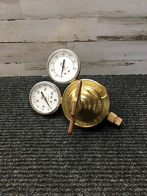 Used Victor Equipment Company Vts 450d Gas Regulator W 2 Gauges Only