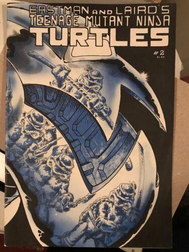 TEENAGE MUTANT NINJA TURTLES #2 2nd Print VF