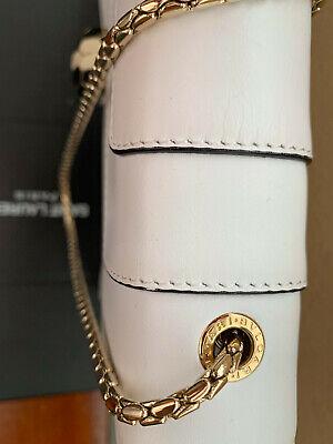 Bulgari White Calf Leather Bag, Serpenti Flap Forever cover, Retails for (Bvlgari Bag White)