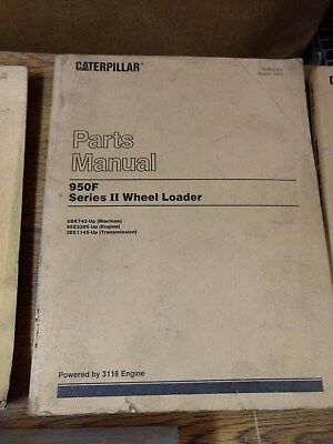 Caterpillar 950f Series Ii Wheel Loader Parts Manual