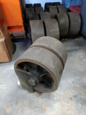 4 Cargo Container Wheel 12caster Heavy Duty Machinery Casters Steelrubber